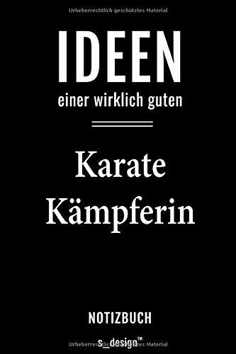 Notizbuch für Karate Kämpfer / Karate Kämpferin: Originelle Geschenk-Idee [120 Seiten weisses blanko Papier]