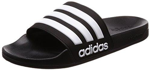 Adidas Adilette Shower, Herren Dusch- & Badeschuhe, Schwarz (Core Black/Footwear White/Core Black 0), 37 EU