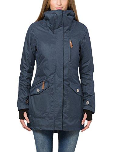 Berydale Damen Parka Jacke wasser- und winddicht, Gr. 38 (Herstellergröße: M), Blau (Navy)