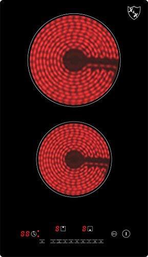 K&H Domino Glaskeramikkochfeld VC-3002