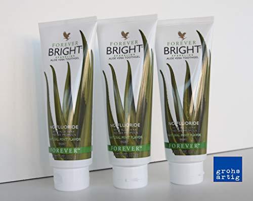 Forever Bright toothgel Aloe Vera Zahngel 3 x 100 ml Toothgeel