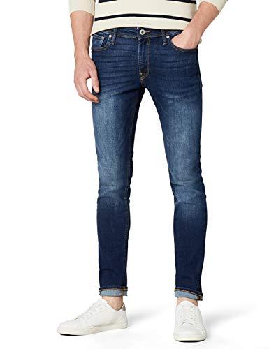 JACK & JONES Herren Liam Original Am 014 Jeanshose, Blue Denim, 36W / 34L