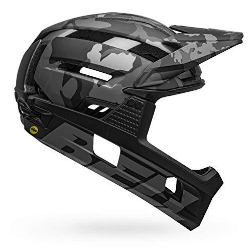 Bell Herren Super Air R MIPS Fahrradhelm MTB, Matte/Gloss Black camo, L | 58-62cm