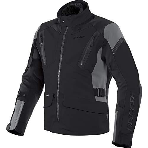 Dainese Motorradjacke mit Protektoren Motorrad Jacke Tonale D-Dry Textiljacke schwarz/Ebony/schwarz 62 (3XL), Herren, Tourer, Ganzjährig