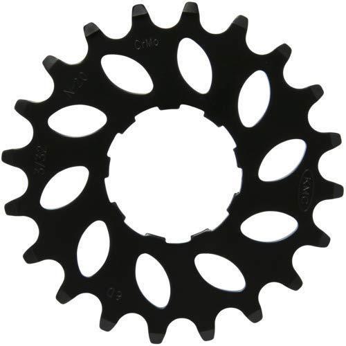 KMC E-Bike 20t Nuvinci Ritzel, Unisex, BSRN5820, Schwarz, Size 1/8