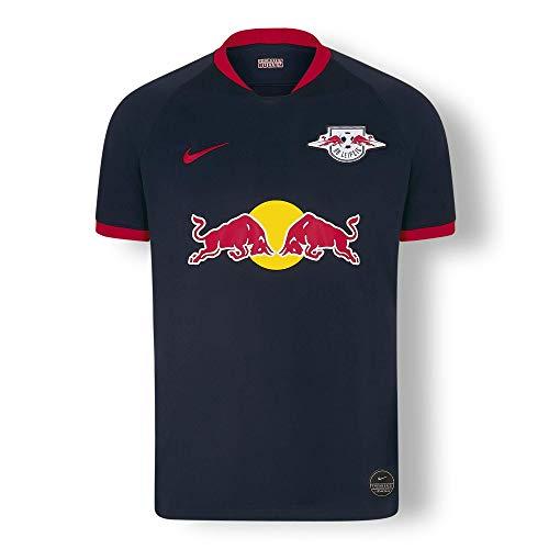 RB Leipzig Away Trikot 19/20, Blau Herren X-Large T Shirt, RasenBallsport Leipzig Sponsored by Red Bull Original Bekleidung & Merchandise