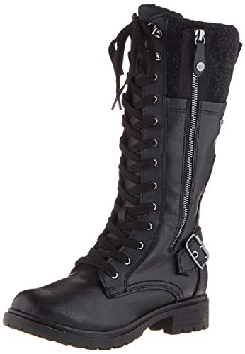 Tamaris Damen 1-1-26608-23 Hohe Stiefel, Schwarz (Black Comb 98), 40 EU
