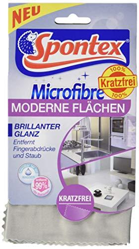 Spontex Microfibre Moderne Flächen, Für Hochglanzmöbel – 3 Stück