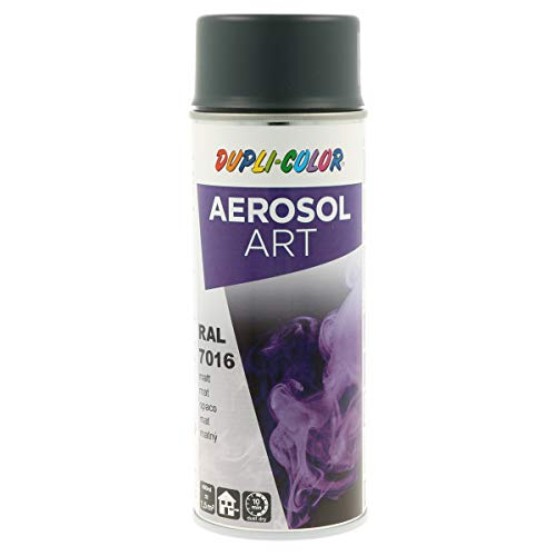DUPLI-COLOR 741517 Aerosol Art Spray 400ml anthrazit, RAL 7016 Anthrazitgrau Matt