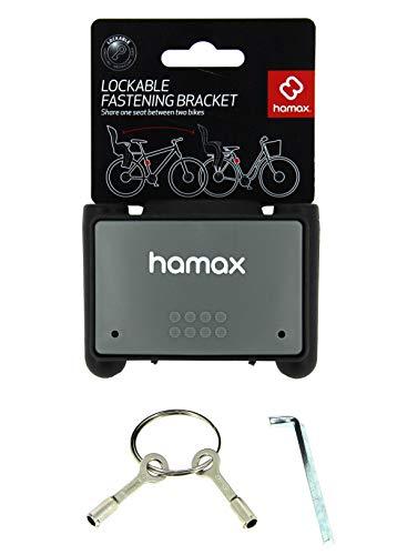HAMAX abschließbare Rahmenhalterung Fahrradkindersitz