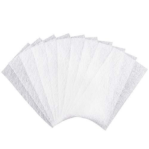Chudian Fiberglas Nägel, 100 Stück Fiberglas Streifen für die Fingernagelreparatur Nägelverlängerung Fiberglasmodellage Silk Nail Wrap Maniküre Werkzeug Nail Extension