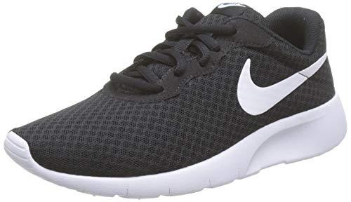 Nike Jungen Tanjun (Gs) Laufschuhe, Schwarz (Black White), 35.5 EU