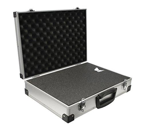 PeakTech P 7270 – Universal Koffer für Messgeräte, Robuster Tragekoffer, Werkzeug Aufbewahrung, Würfelschaum Platten, Schaumstoff Polsterung, abschließbar, Staubschutz, XXL - 500 x 350 x 120 mm