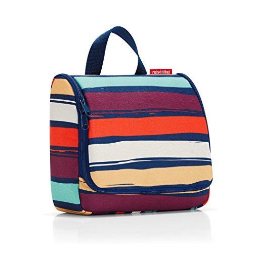 reisenthel toiletbag artist stripes Maße: 23 x 20 x 10 cm / Maße: 23 x 55 x 8,5 cm expanded / Volumen: 3 l