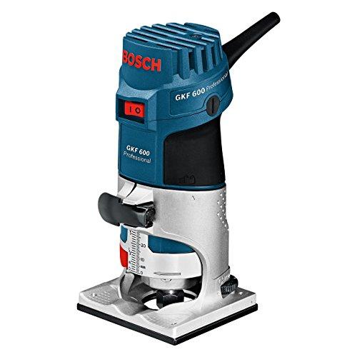 Bosch Professional 060160A102 Kantenfräse GKF 600 mit L BOXX