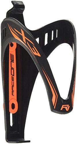 RaceOne X3 Race Flaschenhalter, Matt Black/Orange Fluo, One Size