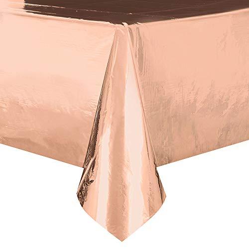 Unique Party 53273 Tischdecke, rose gold
