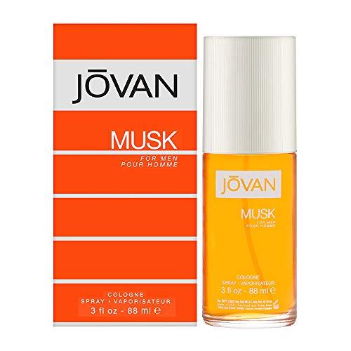 Jovan Musk Men EDC 88 ml Vapo, 1er Pack (1 x 88 ml)