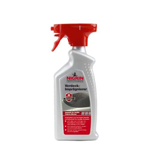 NIGRIN 74183 Cabrio-Verdeck Imprägnierer 500 ml