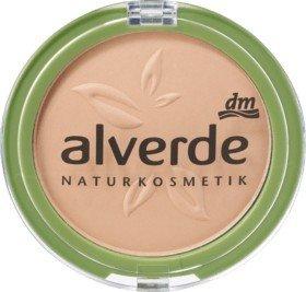 Alverde, Foundation, Make-up Powder Foundation, 20Velvet Sand