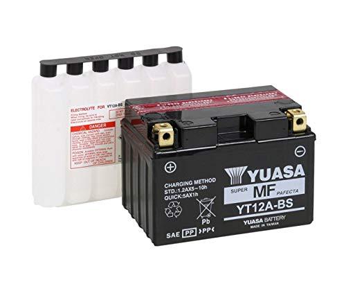Suzuki 650sv-gladius-gsf 1250bandit-gsx fa-400burgman-batterie YUASA yt12a-bs