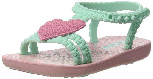 Ipanema Baby Mädchen My First Sandalen, Mehrfarbig (Pink/Green 8666), 24 EU