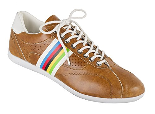 M-Wave Retro-Schuhe, VS Freizeitschuhe, braun, 44