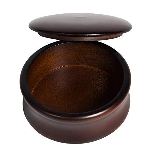 Anself Männer Holz Rasierschale Rasierseifenschalen Seifen Becher Tasse für Rasiermesser Rasierpinsel