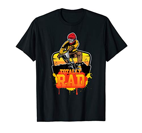 Totally Rad BMX Racing Extreme Sport Bike Rider T-Shirt