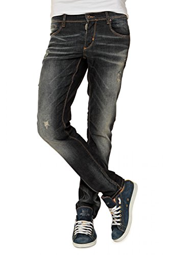 Antony Morato Herren Jeans Skinny Gold Roy, Farbe: Dunkelblau, Größe: 52