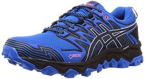 Asics Herren GEL-FujiTrabuco 7 G-TX Laufschuhe, Blau (Electric Blue/Black 400), 48 EU