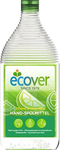 Ecover Hand-Spülmittel Zitrone Und Aloe Vera, Dermatologisch Getestet, 950 ml