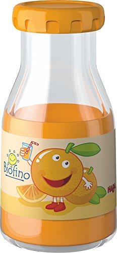 HABA 300118 - Orangensaft | Ideales Zubehör für Kaufladen und Kinderküche | Kleinkindspielzeug ab 3 Jahren | Ideal für Rollenspiele