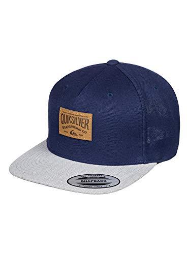 Quiksilver Herren Billside - Snapback-Kappe für Männer Cap, Navy Blazer, 1SZ
