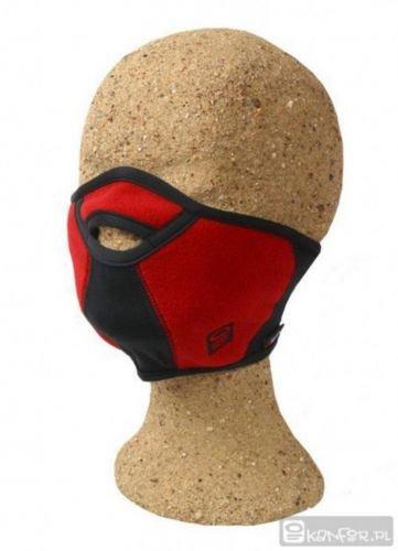 Kanfor &apos Profimaske Snowboard Face Maske Mort Teilen, Polartec Windbloc Größe L/XL Rot