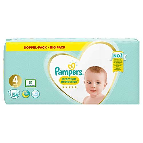 Pampers Premium Protection Windeln, Gr. 4, 54 Windeln