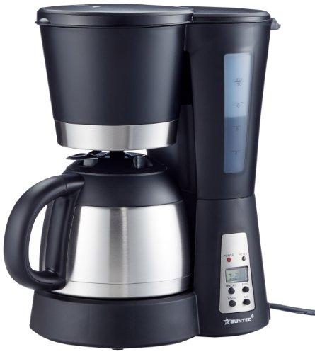 SUNTEC Filter-Kaffeemaschine KAM-9004 [Mit Timer-Programmierung + Anti-Tropf-Feature, Thermoskanne (1,0 l), max. 800 Watt]