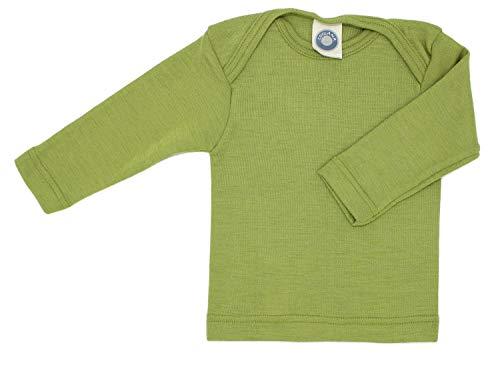 Cosilana Baby Schlupfhemd, Größe 62/68, Farbe Grün - Wollbody®GmbH