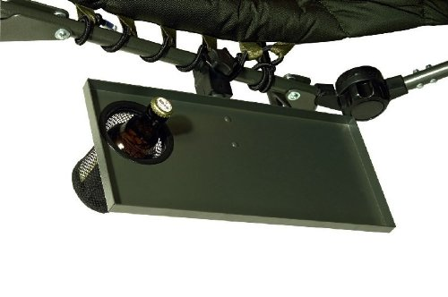 Sänger Top Tackle Systems Unisex– Erwachsene Chair Butler mit Klemmbefestigung (Tisch-Nachrüstung Campingstuhl), Grün, 40 x 18 cm