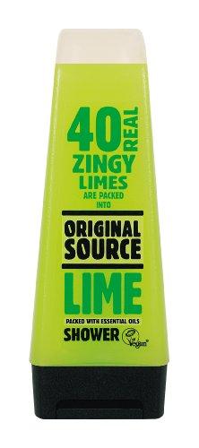 Original Source Shower Gel Lime, 6er Pack (6 x 250ml)