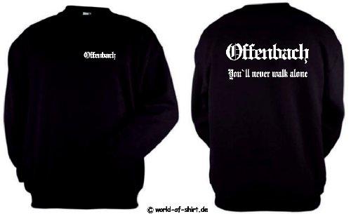 world-of-shirt Herren Sweatshirt Offenbach Ultras