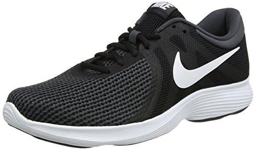 Nike Herren Revolution 4 EU' Laufschuhe, Schwarz (Black/White/Anthracite 001), 45.5