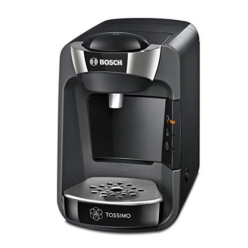 Bosch TAS3202 Tassimo Suny Kapselmaschine (1300 Watt, über 40 Getränke, vollautomatisch, Ein-Knopf-Bedienung, nahezu keine Aufheizzeit) schwarz/anthrazit