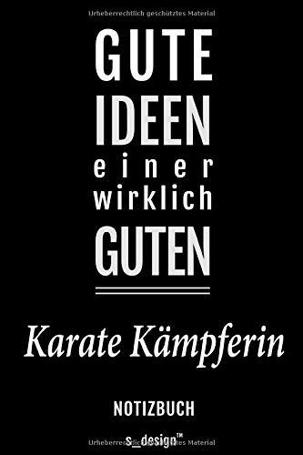 Notizbuch für Karate Kämpfer / Karate Kämpferin: Originelle Geschenk-Idee [120 Seiten gepunktet Punkte-Raster blanko Papier]