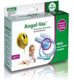 Angel-Vac Geschwister Paket Nasensauger Staubsauger NEU: Mit extra weichem Saugkopf