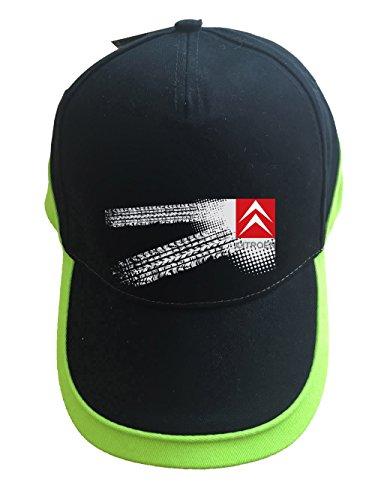 mmshop18 Citroen - Auto Logo Unisex Baseball Cap Mütze -c71 (sw-grün)