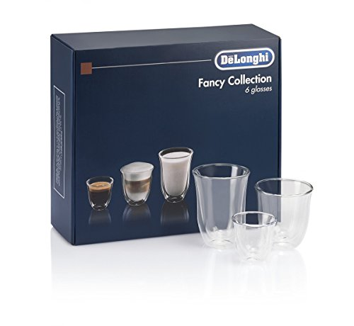 De'Longhi DeLonghi Fancy Box 6er Set Thermo Gläser