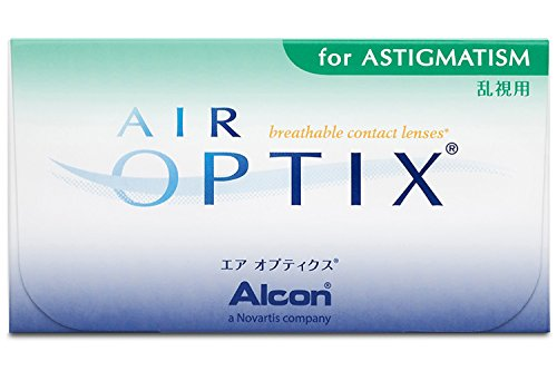 Alcon Air Optix for Astigmatism Monatslinsen weich, 3 Stück / BC 8.7 mm / DIA 14.5 / CYL 0.75 / ACHSE 60 / +1.75 Dioptrien
