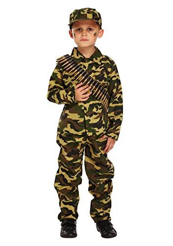 Henbrandt Army Boy Kinderkostüm groß Alter 10 - 12 Jahre