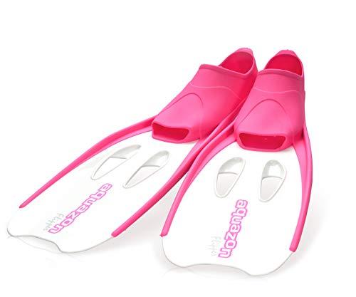 Aquazon Flossen, Schnorchelflossen, Schwimmflossen, Tauchflossen Flipper Für Kinder, Jugendliche Und Damen 31-33 Pink